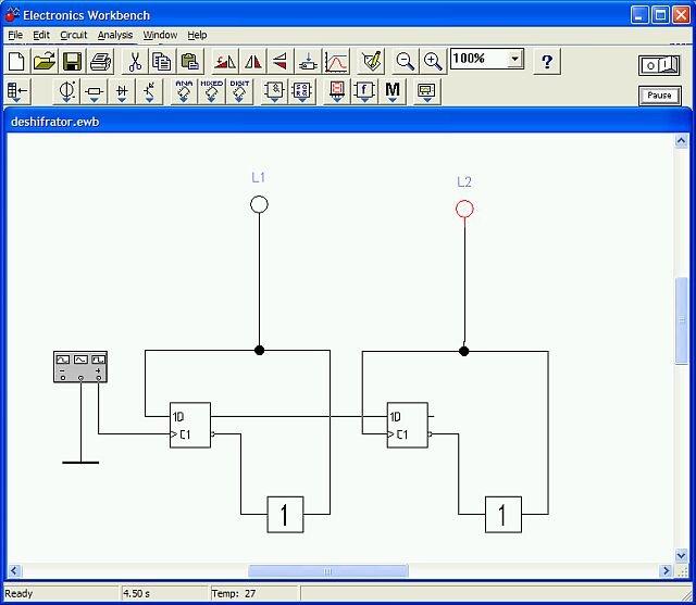 Как построить логическую схему в ewb